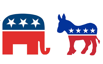 What do the donkey and the elephant symbols of Democrats and ...