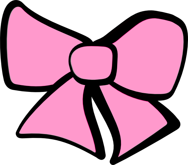 Cartoon Pink Bow - ClipArt Best