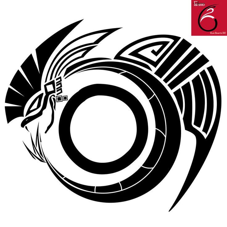 Quetzal Mayan Symbol Quetzalcoatl Ta...