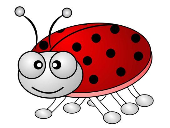free cartoon ladybug clipart - photo #27