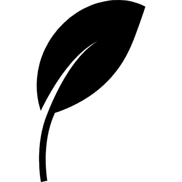 Leaf Symbol Stock Vector 8086870 - Shutterstock