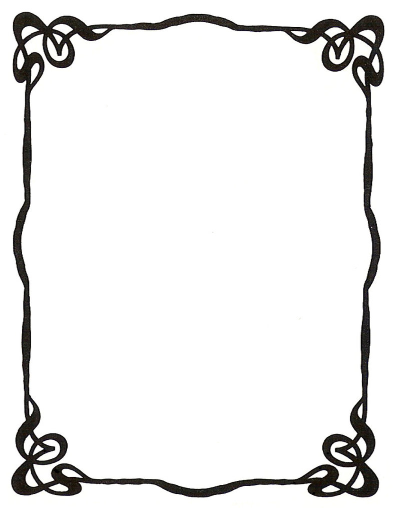 picture frame drawing clipart best