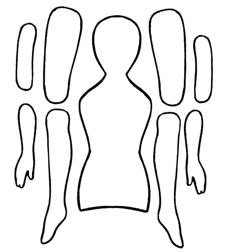 Paper Doll Template | Paper Dolls ...