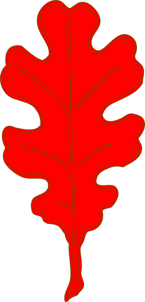 Red Fall Leaves - ClipArt Best