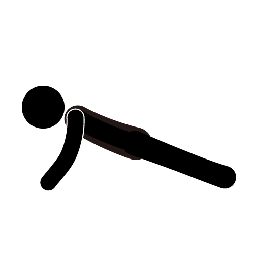 Despite daily strength training I'm not fit enough for WW2 ...  Stick Figure Push Ups