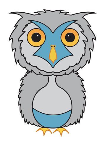 Snowy Owl Carton - ClipArt Best