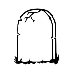 tombstone coloring page clipart best