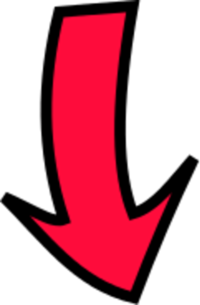 Pointed Down Arrow - ClipArt Best