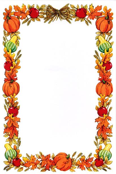 Pumpkin Harvest Border - ClipArt Best - ClipArt Best