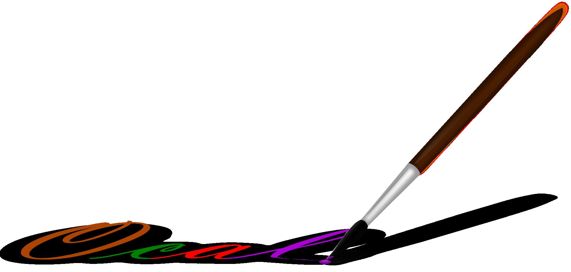 paint brush clip art free - photo #35