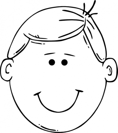 Face Outline Printable - ClipArt Best