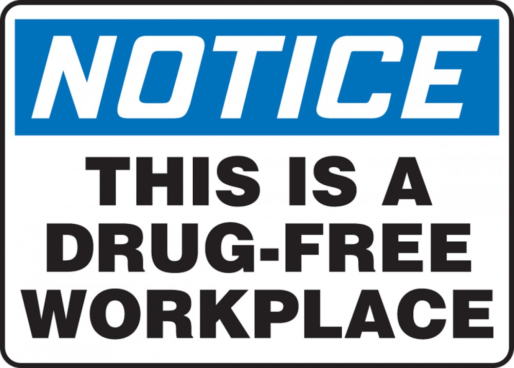 drug free workplace Known as the drug free workplace alliance, the agreement recognizes the value of establishing a collaborative relationship to foster safer, drug-free and.