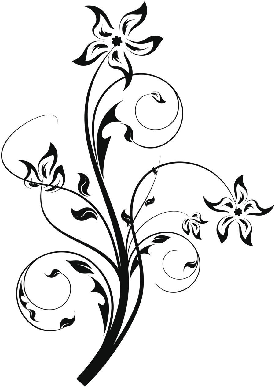 Line Art Vines : Unique vines line tattoo clipart best