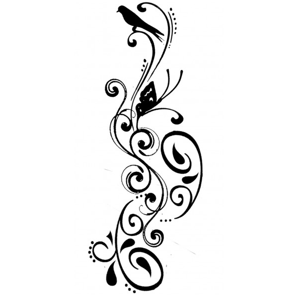 Swirl pattern tattoo designs clipart best for Swirl tattoo designs