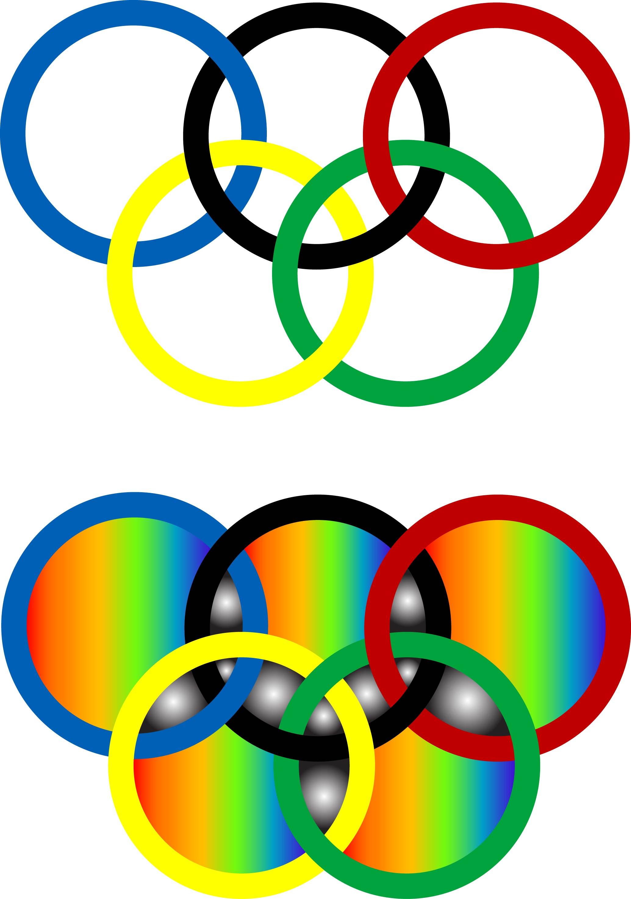 колец картинку олимпийских