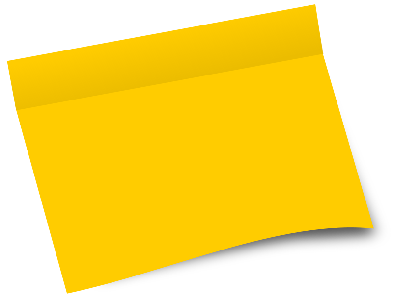 Yellow Post It Png - ClipArt Best