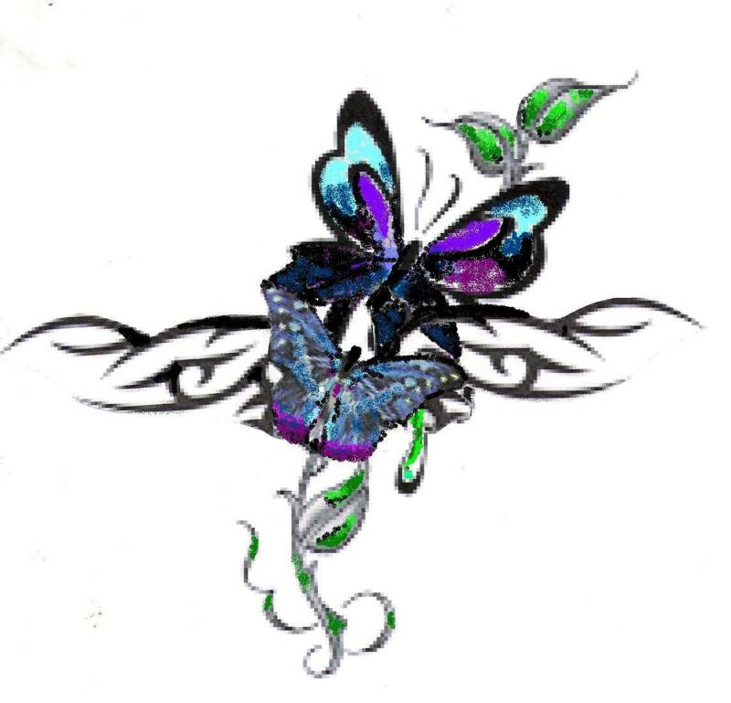 best butterfly tattoo designs clipart best clipart best. Black Bedroom Furniture Sets. Home Design Ideas