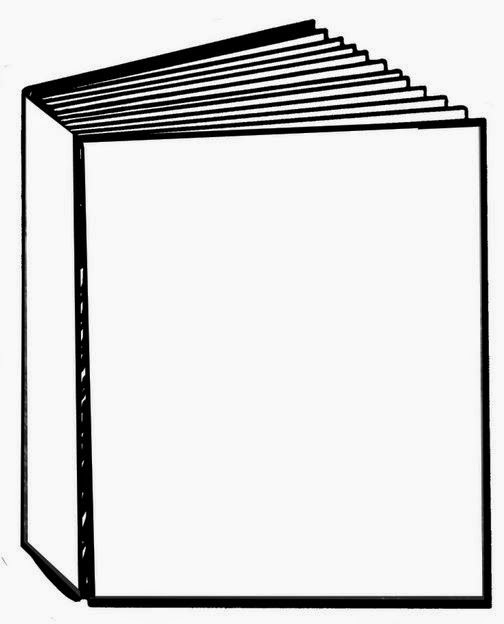 Book Cover Template Clipart ~ Blank book front cover clipart best
