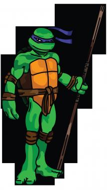 How to Draw Donatello from Ninja Turtles, Cartoons, Easy ...