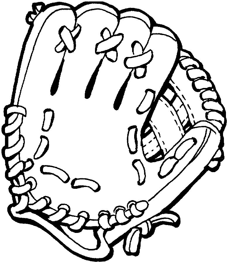 Clipart Baseball Glove Best