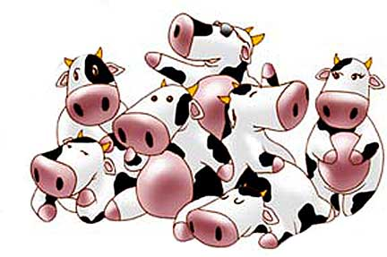 Pictures Of Cartoon Cows Clipart Best