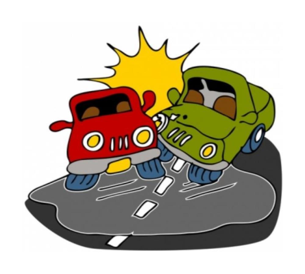 car crash cartoon pictures clipart best Car Crash Drawing Car Crash into Tree