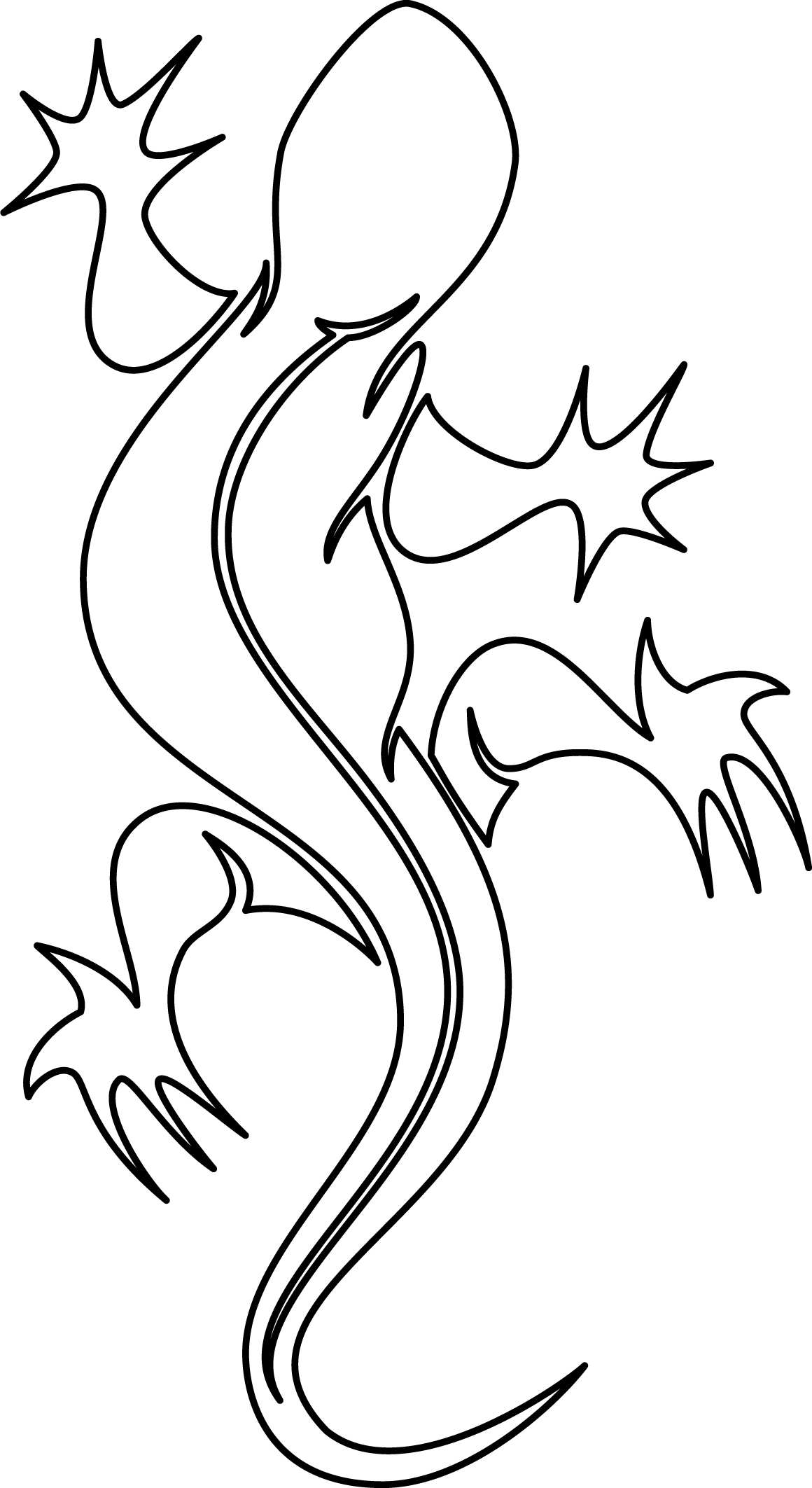 Drawings Of Lizards - ClipArt Best