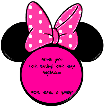 Minnie Mouse Face - ClipArt Best