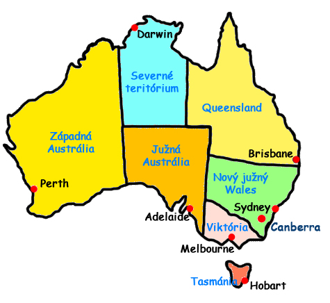 Australia Map Capitals.Map Of Australia States And Capitals Afp Cv