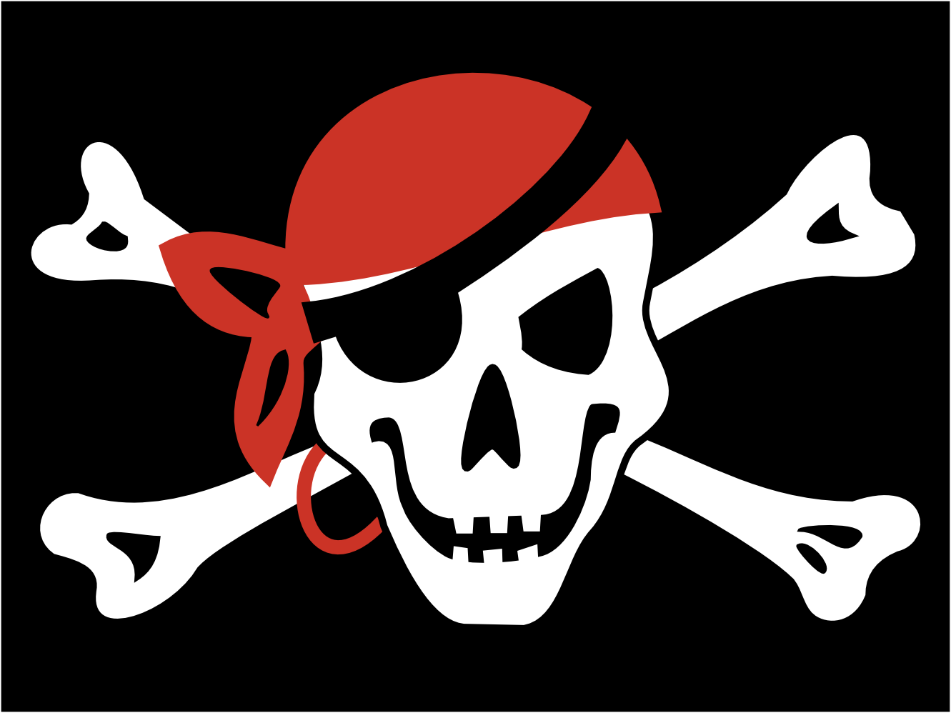 clipart pirate flag - photo #4