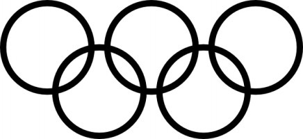 Olympics Clipart Black And White