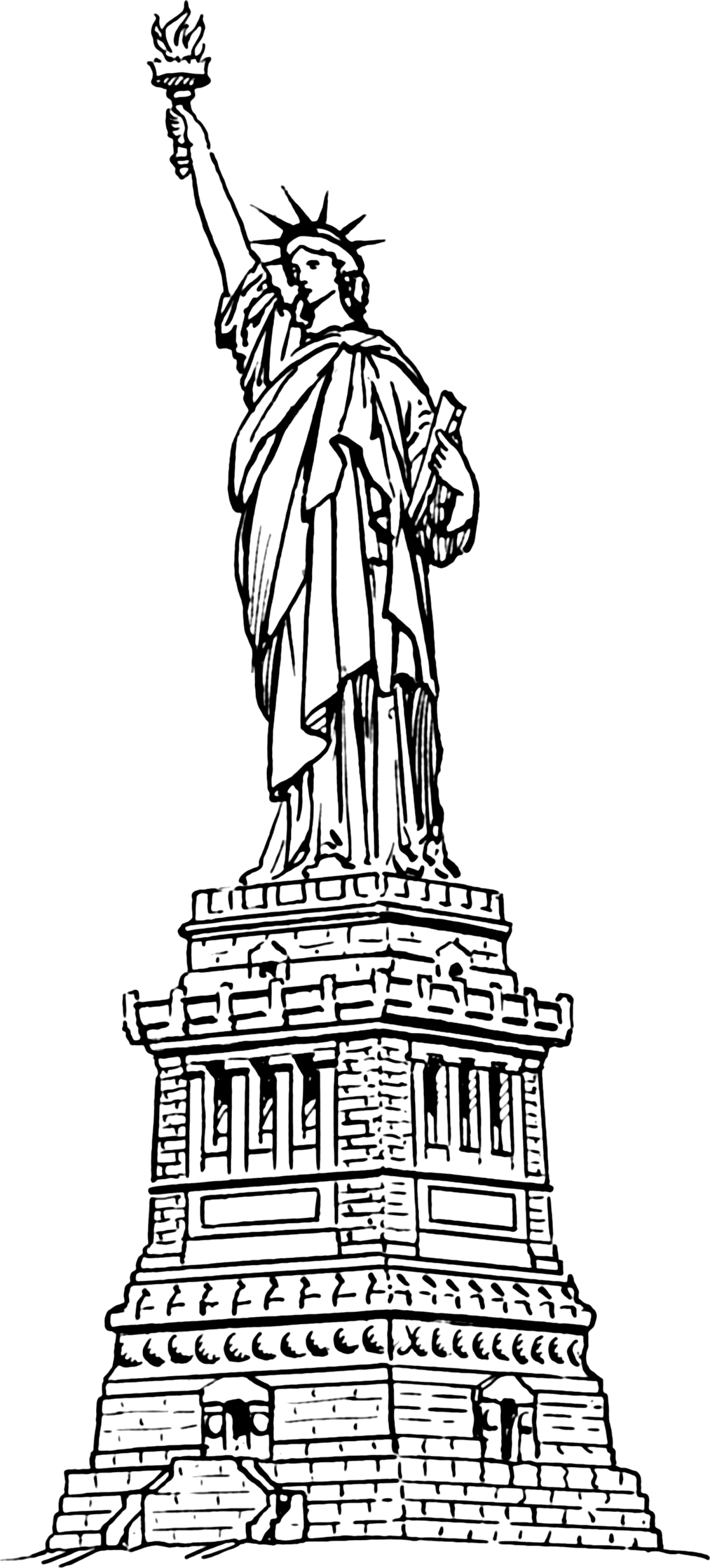 Clipart Statue Of Liberty - ClipArt Best