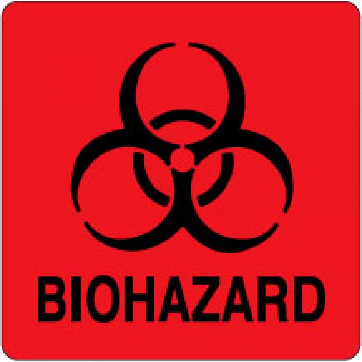 red biohazard signs clipart best