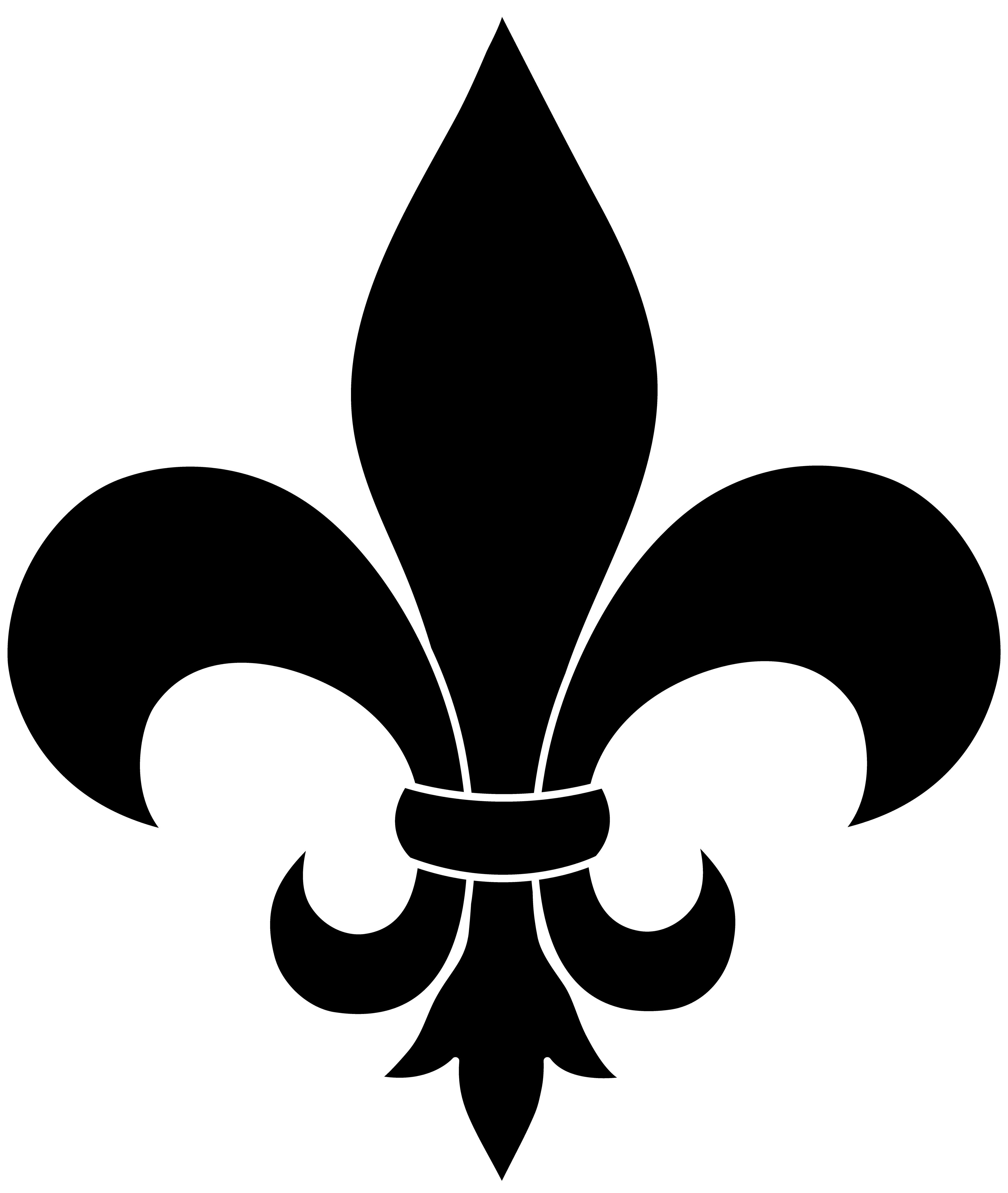 fleur de lis vector image clipart best. Black Bedroom Furniture Sets. Home Design Ideas