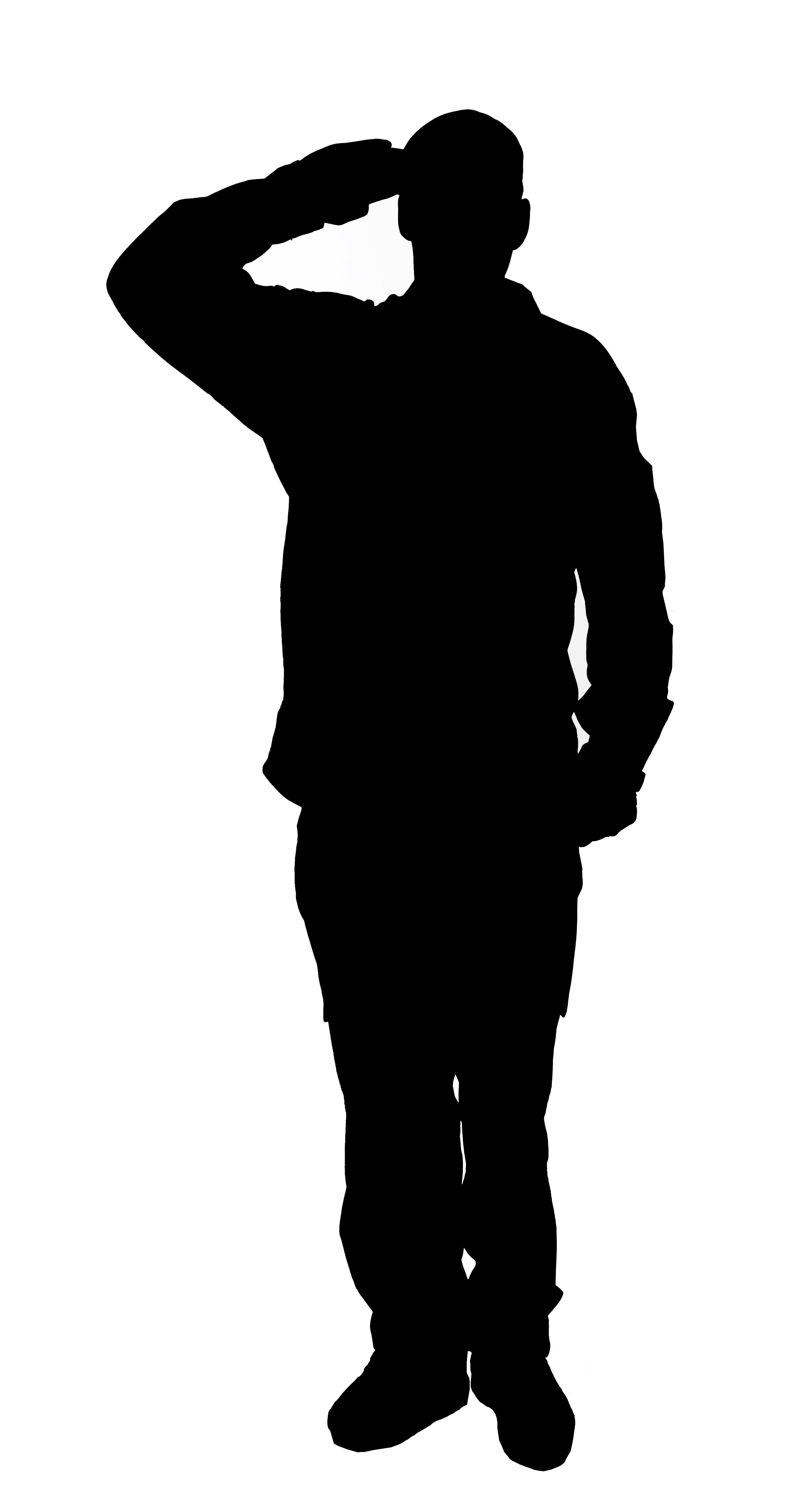 Sillhouette Soldier Clipart Best