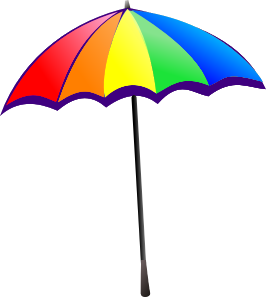 Cartoon Beach Parasol - ClipArt Best