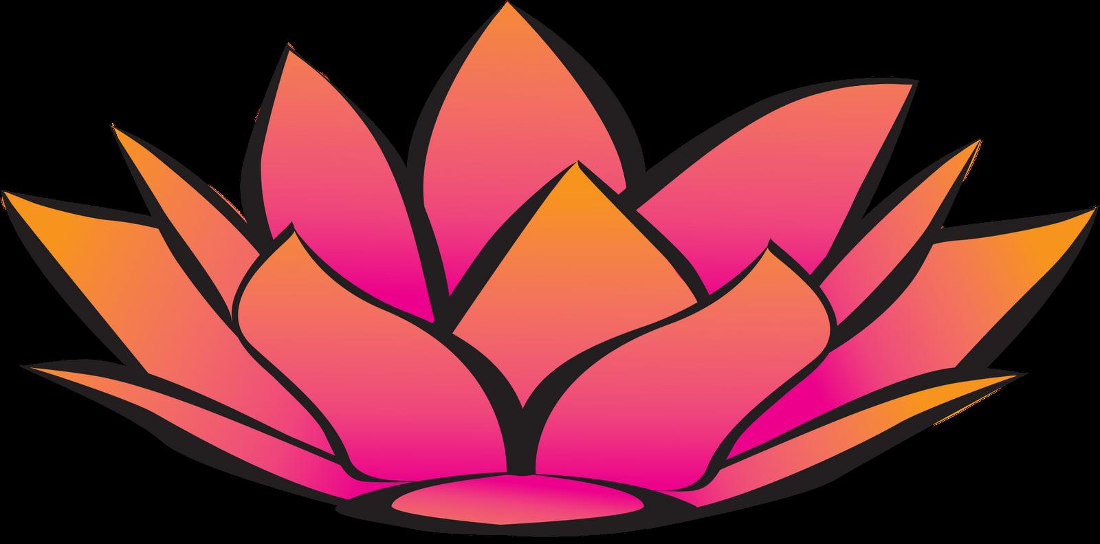 Lotus flower graphic