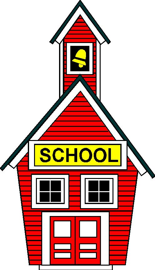 Cartoon schoolhouse images clipart best for Best old school house