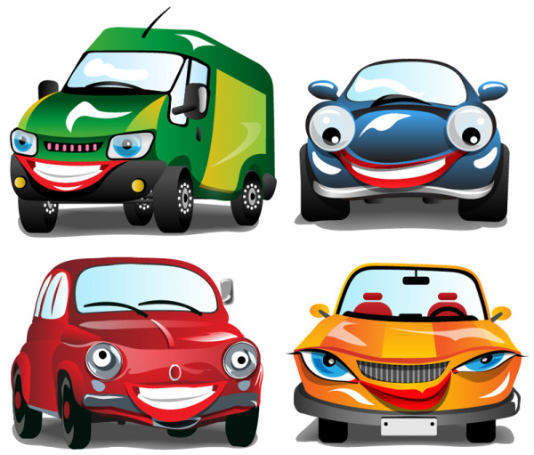 Cartoon Car Vector Clipart Best
