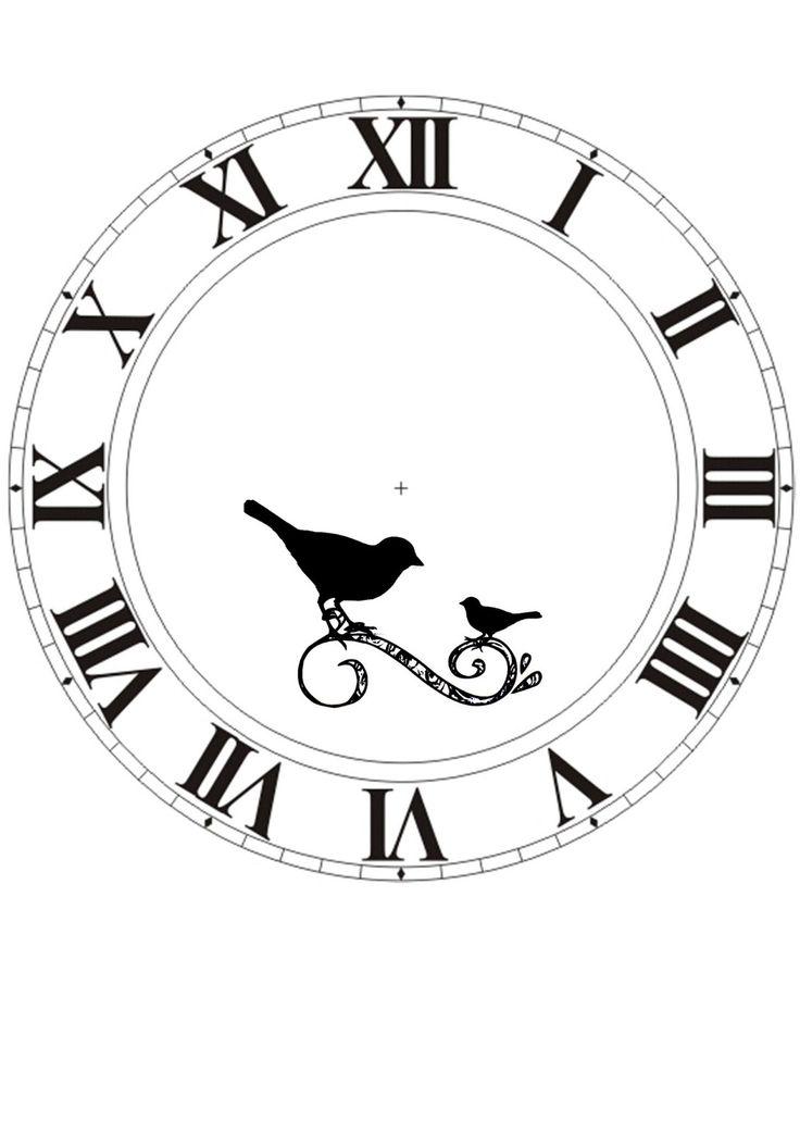 Printable Blank Clock Face Clipart Best