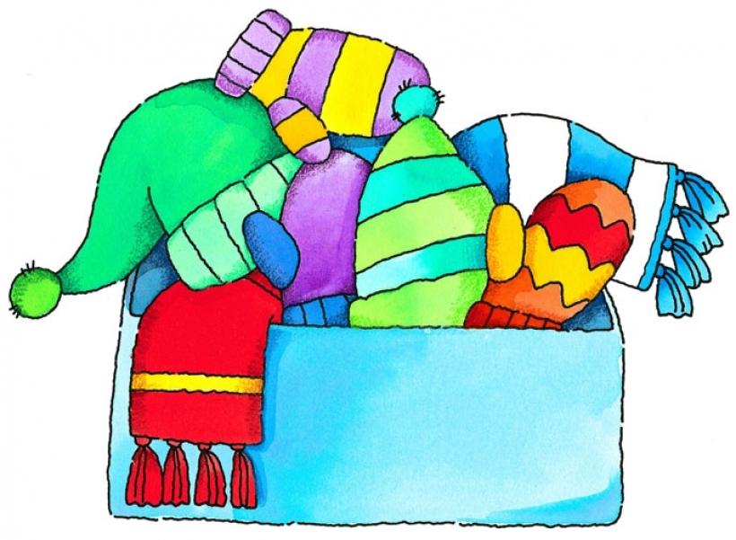 Clip Art Winter Clothes - ClipArt Best