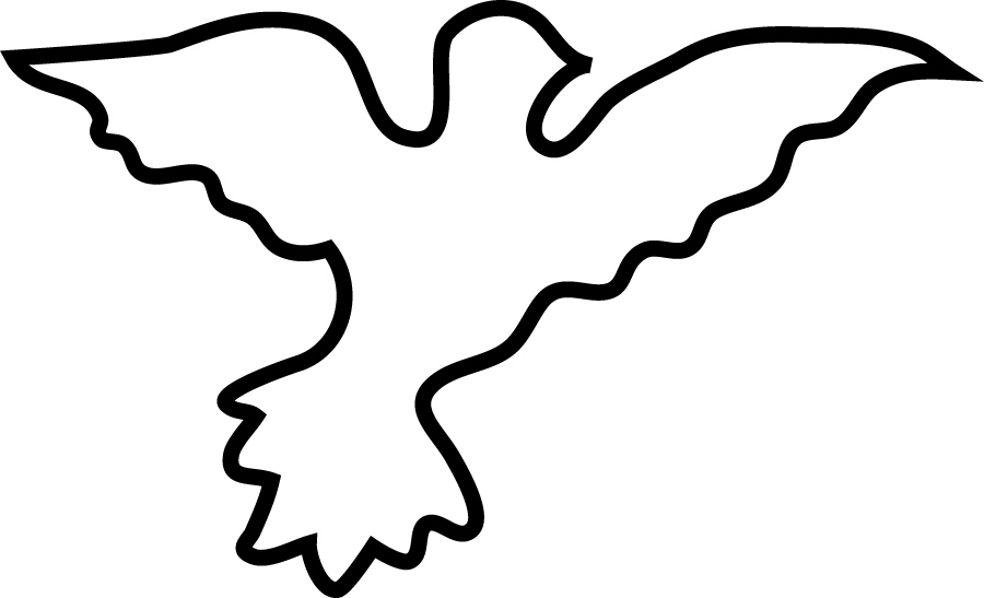 Dove Outline - ClipArt Best