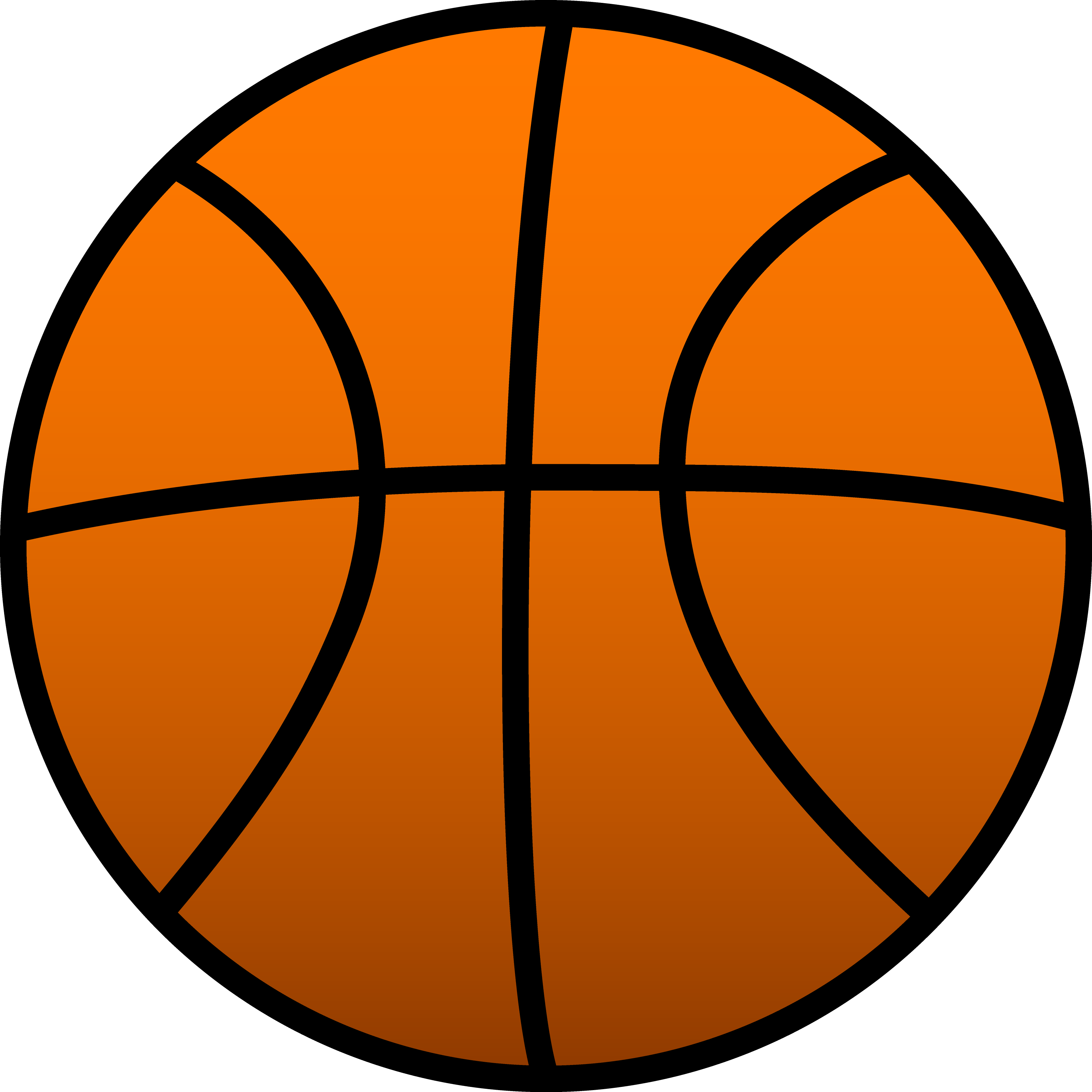Basketball vector art free clipart best for Free basketball vector