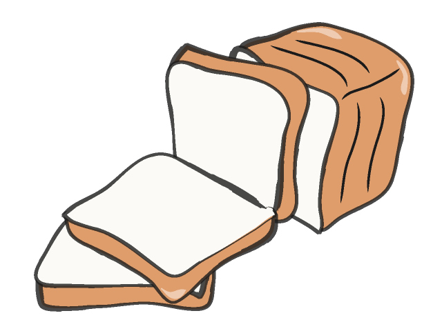 Slice of Bread Clipart Slice of Bread Clipart