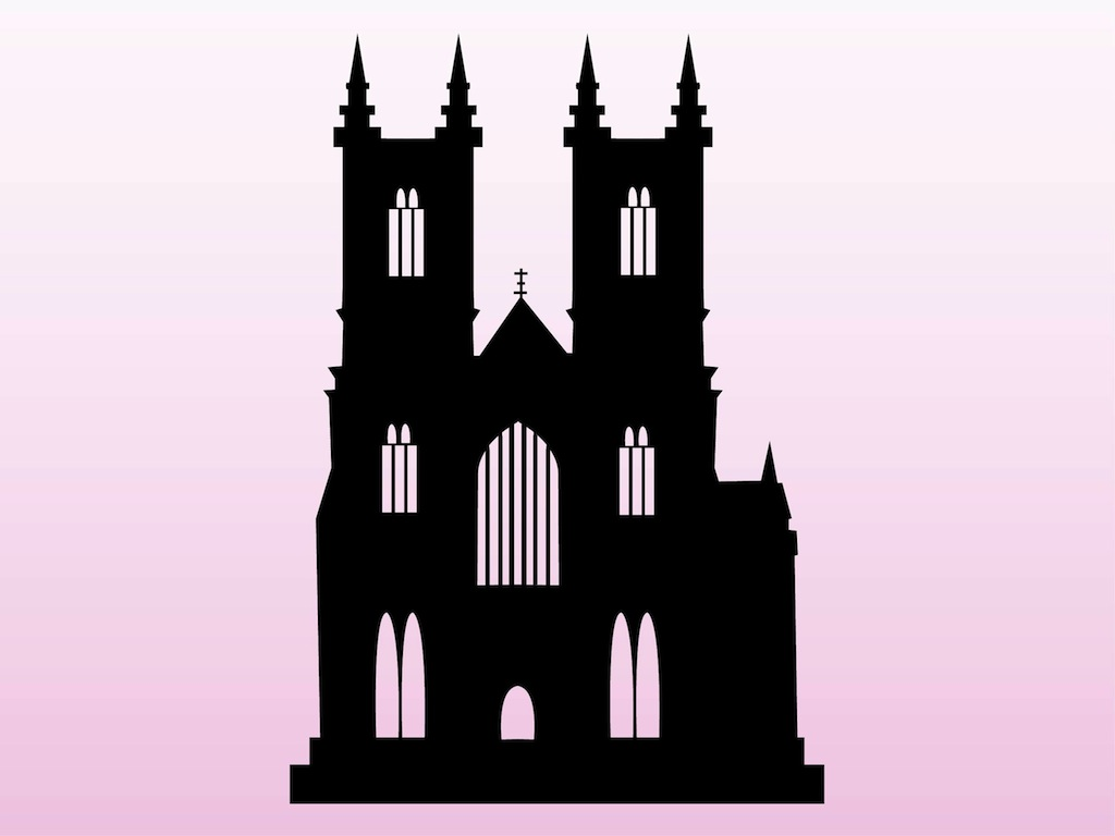 Church Silhouette Vector - ClipArt Best