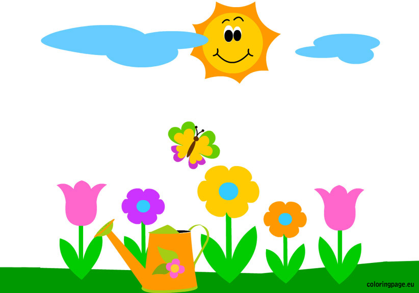 welcome spring clip art perseidtx clipart best