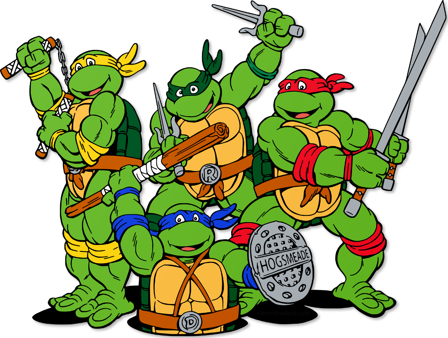 Teenage Mutant Ninja Turtles Clipart - ClipArt Best