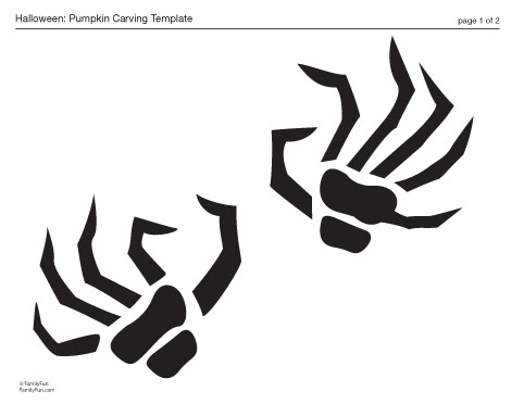 Scary pumpkin stencils to print car repair manuals and for Spooky letter stencils