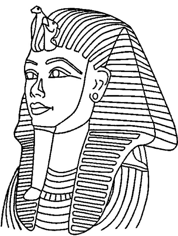 free coloring pages king tut - photo#15