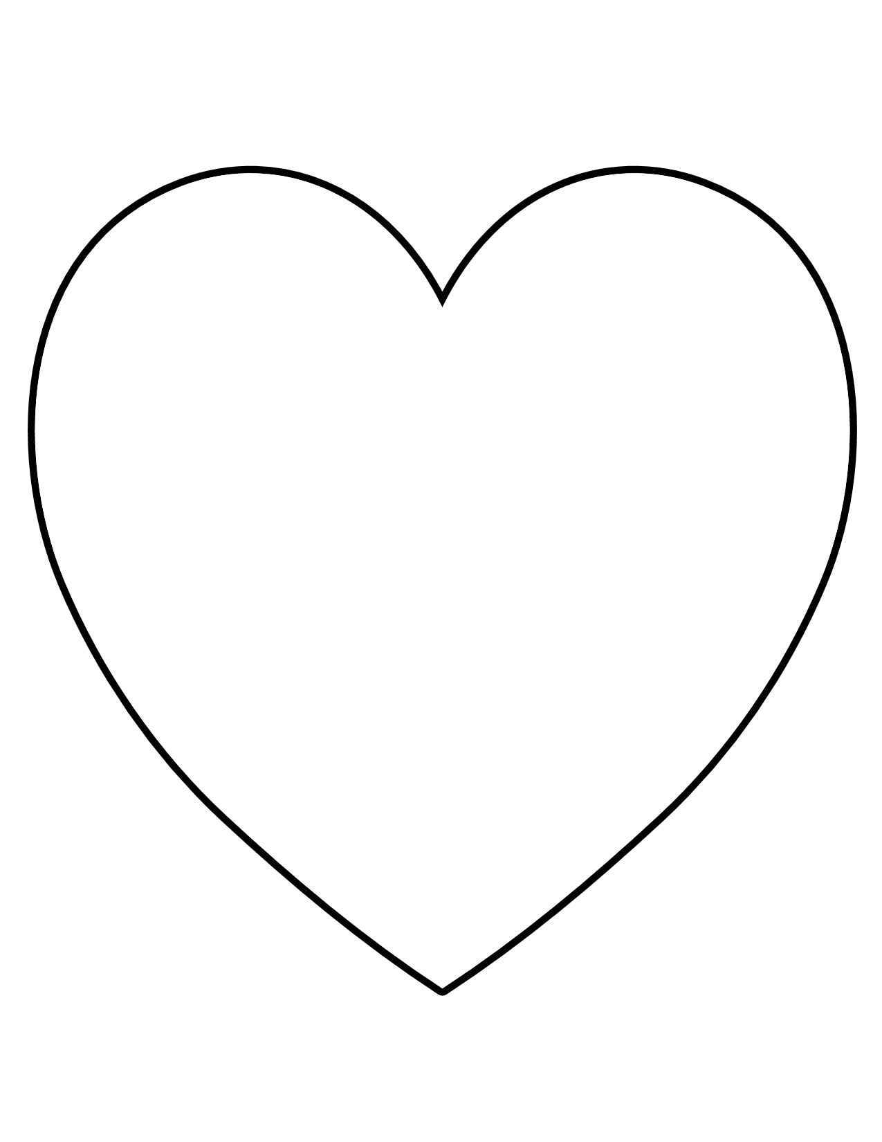39 printable heart shape template free cliparts that you can download ...